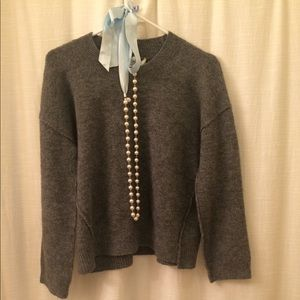 Madewell Sweater, Grey, Size small